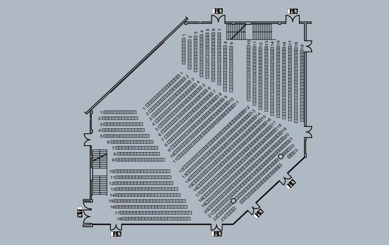 großer Saal - große Bühne