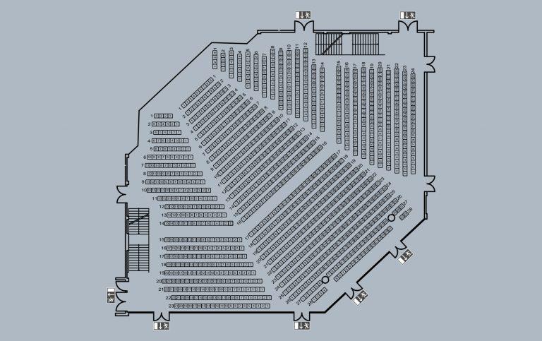 großer Saal - kleine Bühne