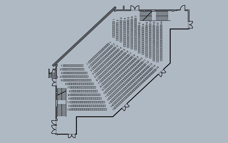 kleiner Saal - große Bühne