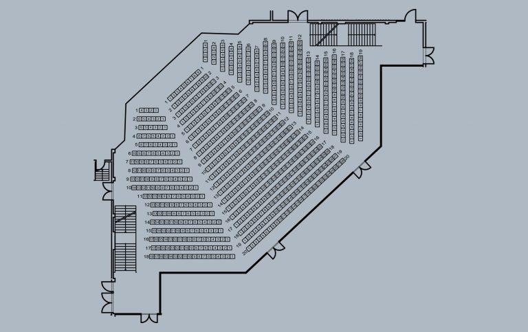 kleiner Saal - kleine Bühne