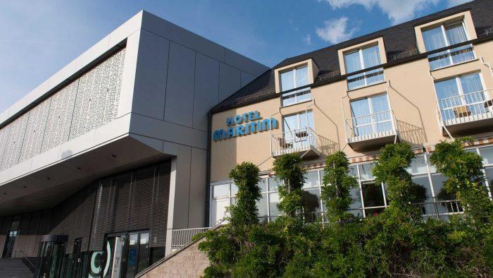 Congress Centrum Aussenansicht (c) Maritim Hotel
