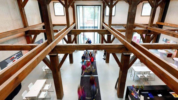 Museum im Kulturspeicher, Foyer v.o.(c) CTW_A. Grasser